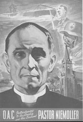 Bild: Martin Niemöller - Plakat